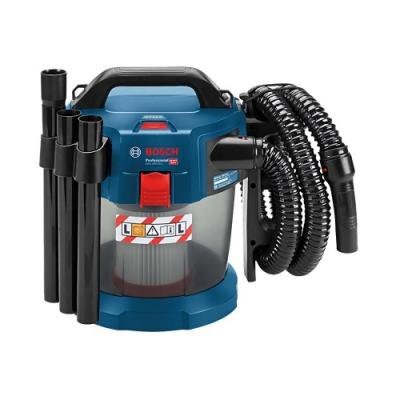 BOSCH 18V鋰電乾濕兩用吸塵器GAS18V-10L(雙電4.0AH)