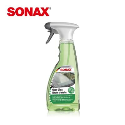 SONAX 玻璃除油膜劑 德國原裝 居家鏡面 車內外玻璃 油膜清除 玻璃保養-急速到貨