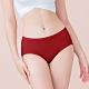 台灣製 保養級天然蠶絲蛋白低敏感透氣 M-XL 中腰內褲 熱情紅 可蘭霓Clany product thumbnail 1