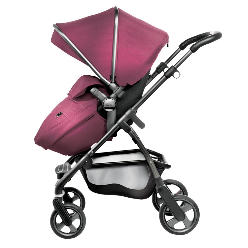 奇哥 英國Silver Cross Wayfarer 雙向嬰兒推車-茄紫