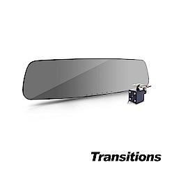 全視線 LS500 GPS測速 1296P高畫質雙鏡頭行車記錄器