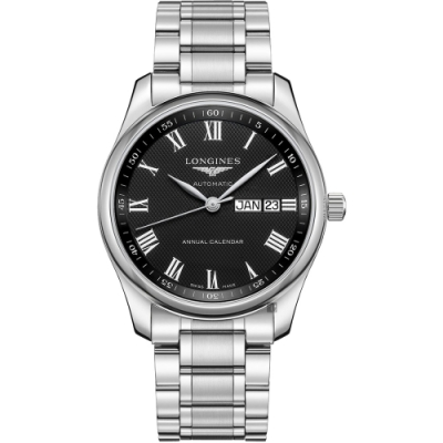 LONGINES 浪琴 Master 巨擘系列羅馬機械錶-40mm (L29104516)