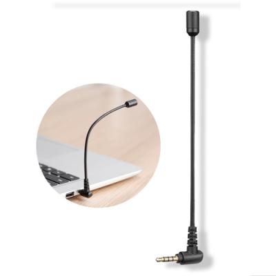 BOYA博雅 智能降噪指向性麥克風 3.5mm 手機電腦直播錄音麥克風 K歌演唱/視頻錄製/採訪/演講 單反相機高音質話筒