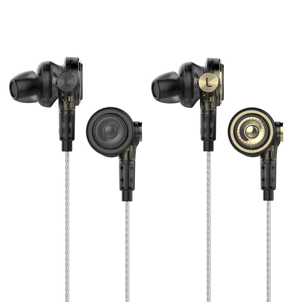 UiiSii BA-T9 Hi-Fi混合三單體圈鐵MMCX可換線耳機