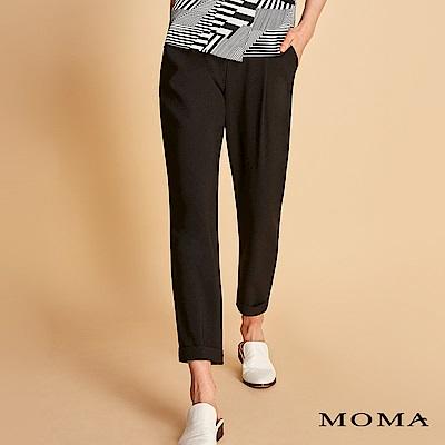 MOMA 褲口反褶哈倫褲