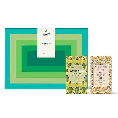 Crabtree & Evelyn瑰珀翠 雙人香皂禮盒