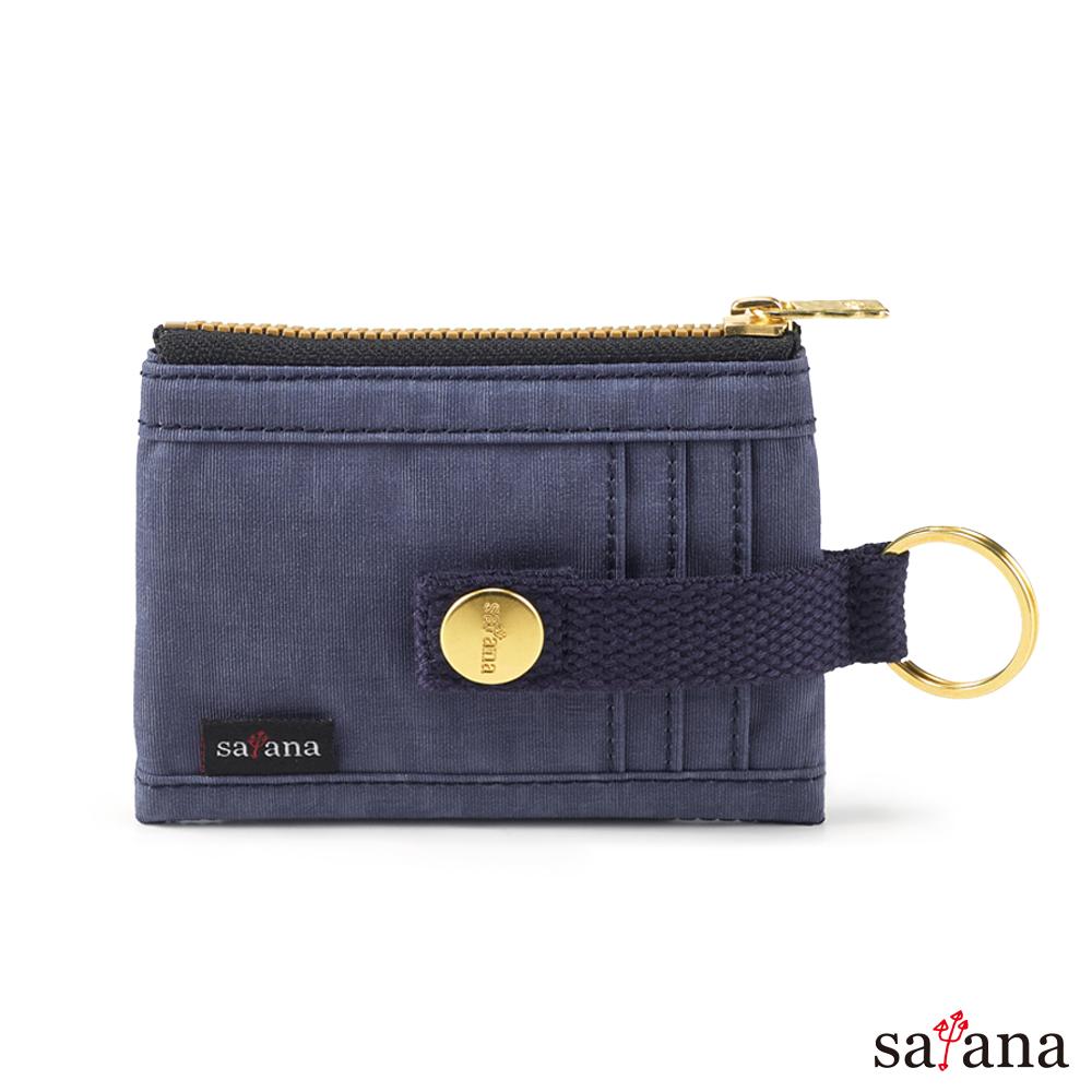 satana - 繽紛卡片夾/零錢包 - 夜影藍