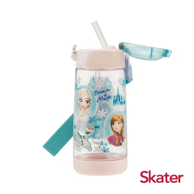 Skater 吸管水壺(480ml)PET 冰雪奇緣