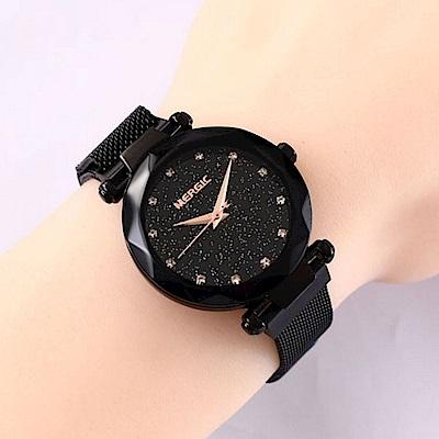 Ela 簡約個性吸磁帶石英女腕錶