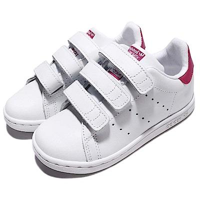 adidas 休閒鞋 Stan Smith 低筒 運動 童鞋