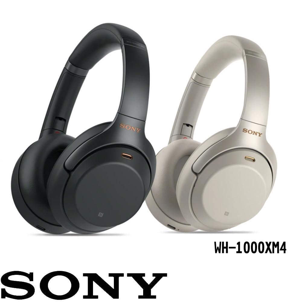 【SONY 】 WH-1000XM4無線藍牙降噪耳罩式耳機-正原廠公司貨 福利品 2年保固
