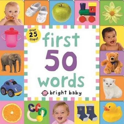 First 50 Words 50個字一次就上手硬頁翻翻操作書(英國版)