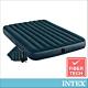 INTEX經典雙人充氣床(綠絨)-寬152cm(附手壓幫浦+枕頭*2)(64736) product thumbnail 2