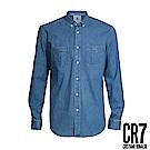 CR7-Slim Fit 丹寧襯衫(8676-72300-32)
