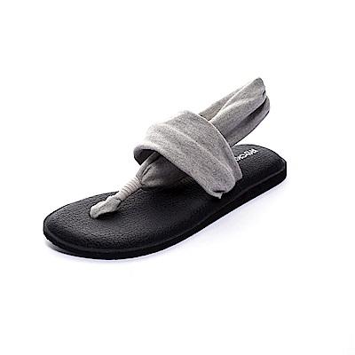 ROCKY BEAR 素色瑜珈墊夾腳涼鞋-灰(女)
