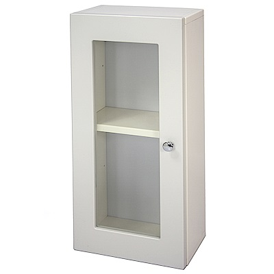 Aaronation 經典款塑鋼單開門浴櫃 GU-C1027W
