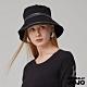 【NATURALLY JOJO】 小J雙線配皮漁夫帽(黑) product thumbnail 2