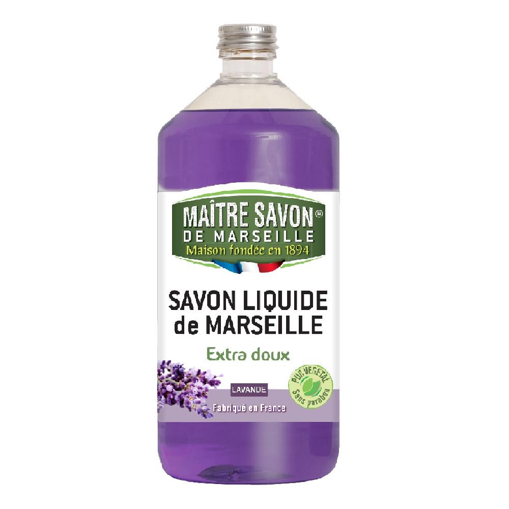 法國玫翠思馬賽液體皂1000ml-薰衣草