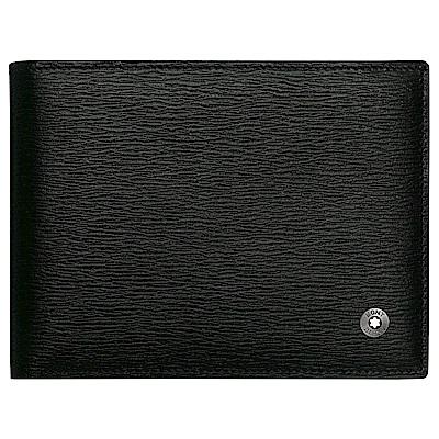 MONTBLANC萬寶龍西方之星系列黑色六卡短皮夾