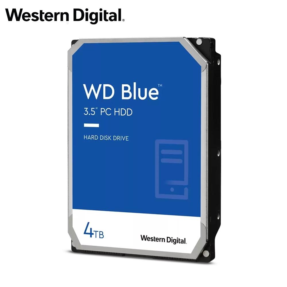 WD 藍標 4TB 3.5吋SATA硬碟(WD40EZAZ)