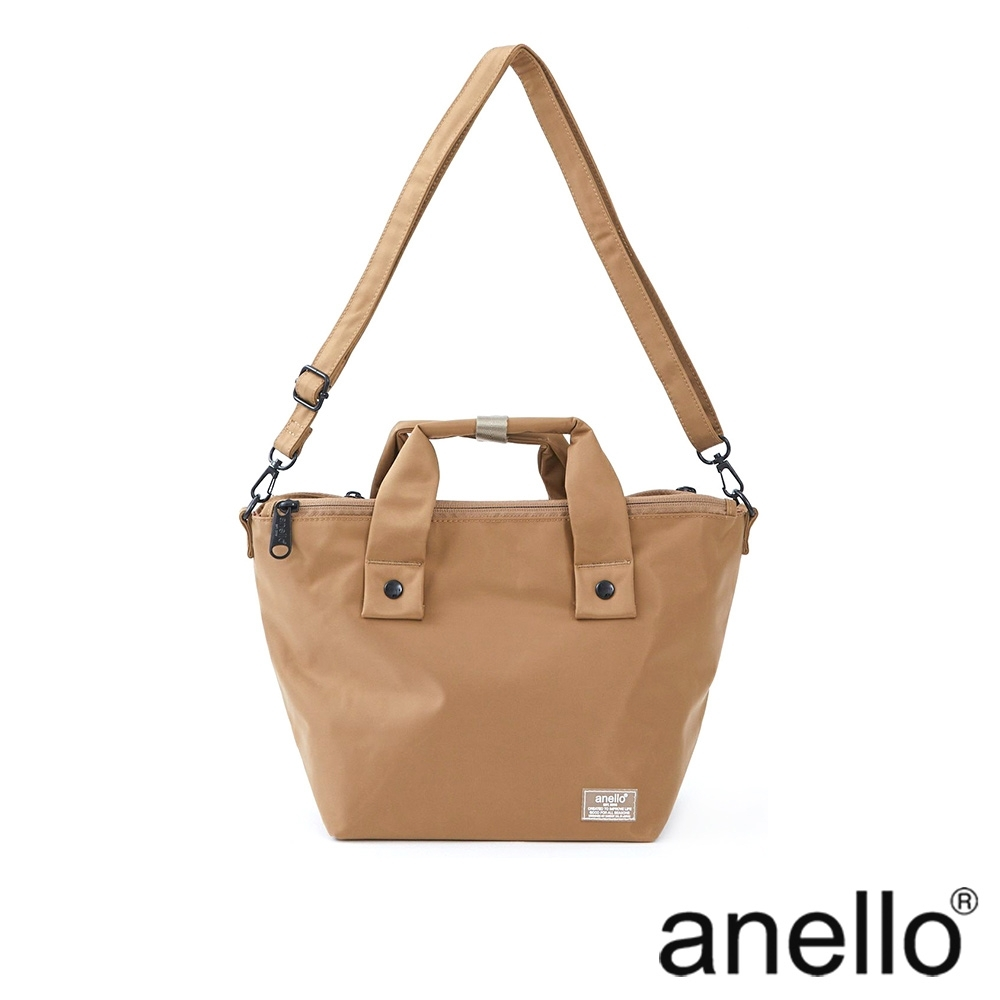 anello SHIFTⅡ 純色極簡百搭防潑水尼龍手提斜背兩用包 product image 1
