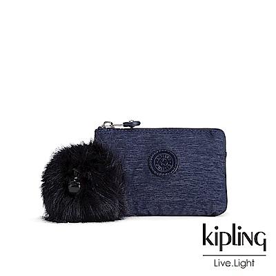 Kipling星空藍三夾層配件包(小)-CREATIVITY S