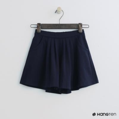 Hang Ten -童裝 - 甜美百褶褲裙 - 藍