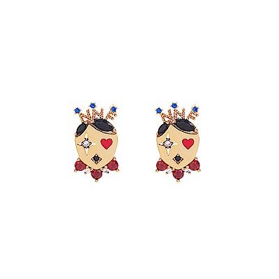 NOONOO FINGERS 小丑 耳環/耳夾