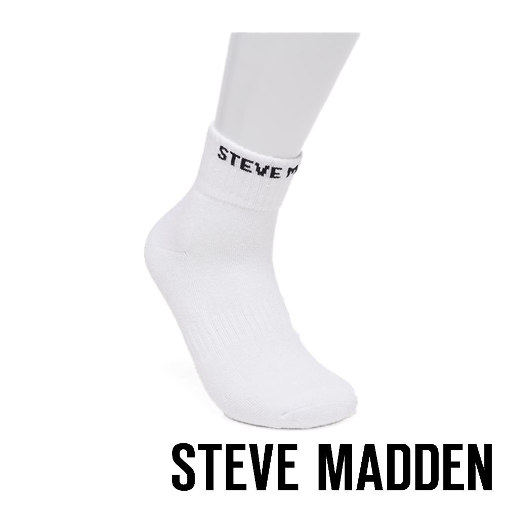 STEVE MADDEN-時尚品牌彈性襪-白色