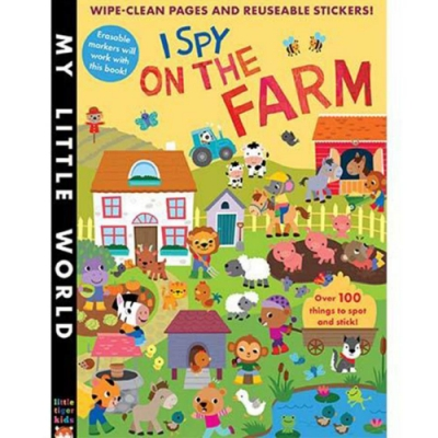 My Little World:I Spy On The Farm觀察農場平裝活動書