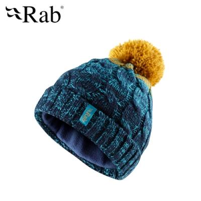 【RAB】Braid Beanie 保暖針織毛帽 墨藍 #QAA62