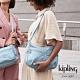 Kipling 寧靜海洋藍雙拉鍊前袋肩背包-IZELLAH product thumbnail 1