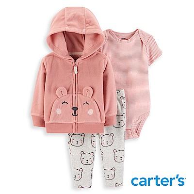 Carter's 小熊口袋3件組套裝