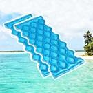 索樂生活 (2入)水波浪 專利冷熱對流式水冷涼感墊M/可排水收納