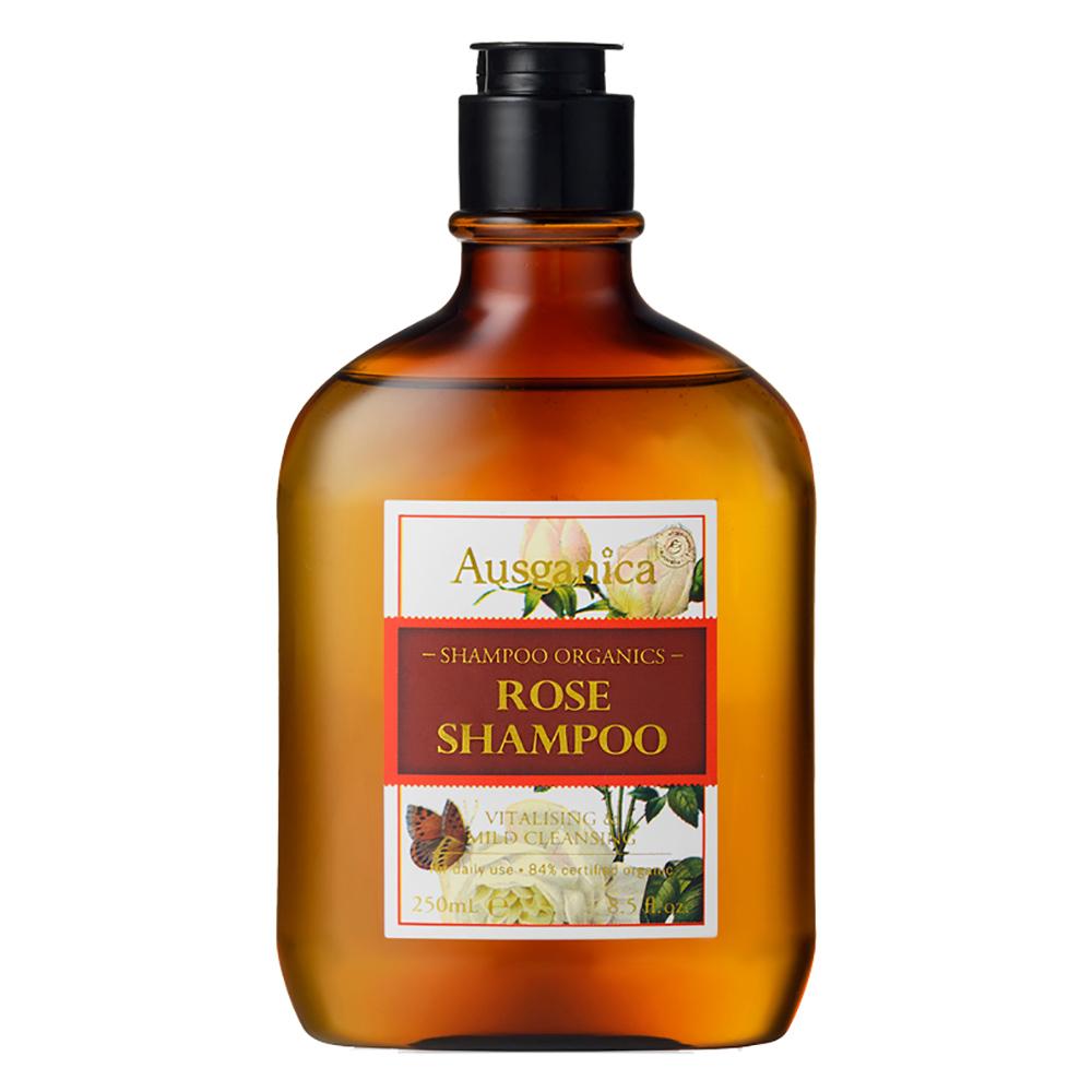 澳潔蕬Ausganica 頂級有機成份保加利亞奧圖玫瑰精油洗髮精(250ml)