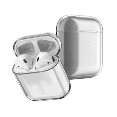 AirPods 1/2 透明 PC藍牙耳機保護套