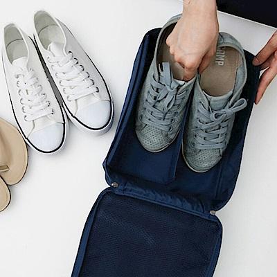 E-dot 韓版大容量多功能旅行收納鞋袋(二色)