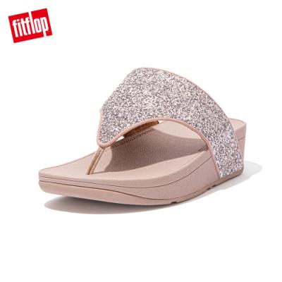 FitFlop OLIVE GLITTER MIX TOE-POST SANDALS夾腳涼鞋-女(珊瑚粉)