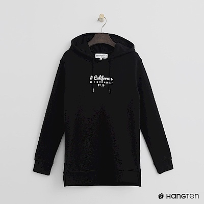 Hang Ten - 女裝 - 加州美式風格帽T-黑色