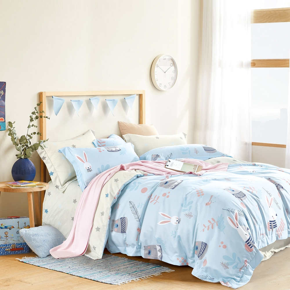 (買一送一)夢之語 3M天絲鋪棉床罩組(多款)-單/雙/大均價 (彼得兔熊)