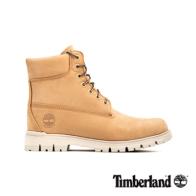 Timberland 男款中駝色磨砂革經典6吋靴|A218T