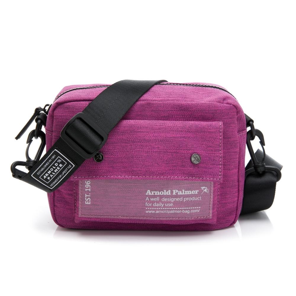 Arnold Palmer- 斜背相機包 Camera系列-紫紅色
