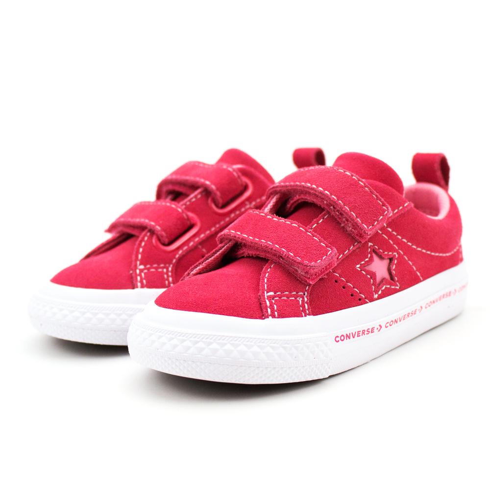 Converse 嬰幼休閒鞋-760038C 紅