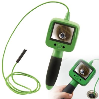 2.4吋螢幕手持防水型工業蛇管內視鏡頭