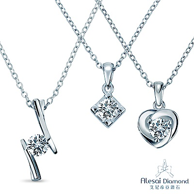 Alesai 艾尼希亞鑽石 30分 14K鑽石項鍊 (3選1)