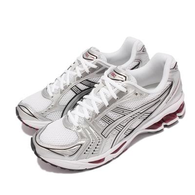 Asics 慢跑鞋 GEL Kayano 14 復古 男女鞋 亞瑟士 致敬系列 緩衝 亞瑟膠 穿搭 白 銀 1201A019104