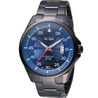 ALBA 雅柏 活力街頭時尚腕錶(AS9H39X1)44mm