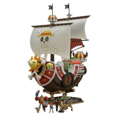 日本BANDAI海賊王ONE PIECE航海王新世界篇Ver.千陽號#716279(綠字銀證)Thousand-Sunny模型