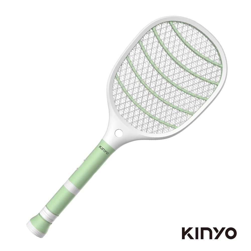 KINYO分離式充電手電筒電蚊拍CM3320