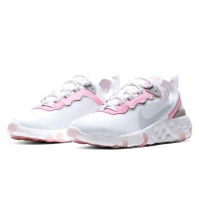 NIKE 大童鞋 運動 休閒 舒適 女鞋 白粉 CK4081102  Nike Renew Element 55 GS